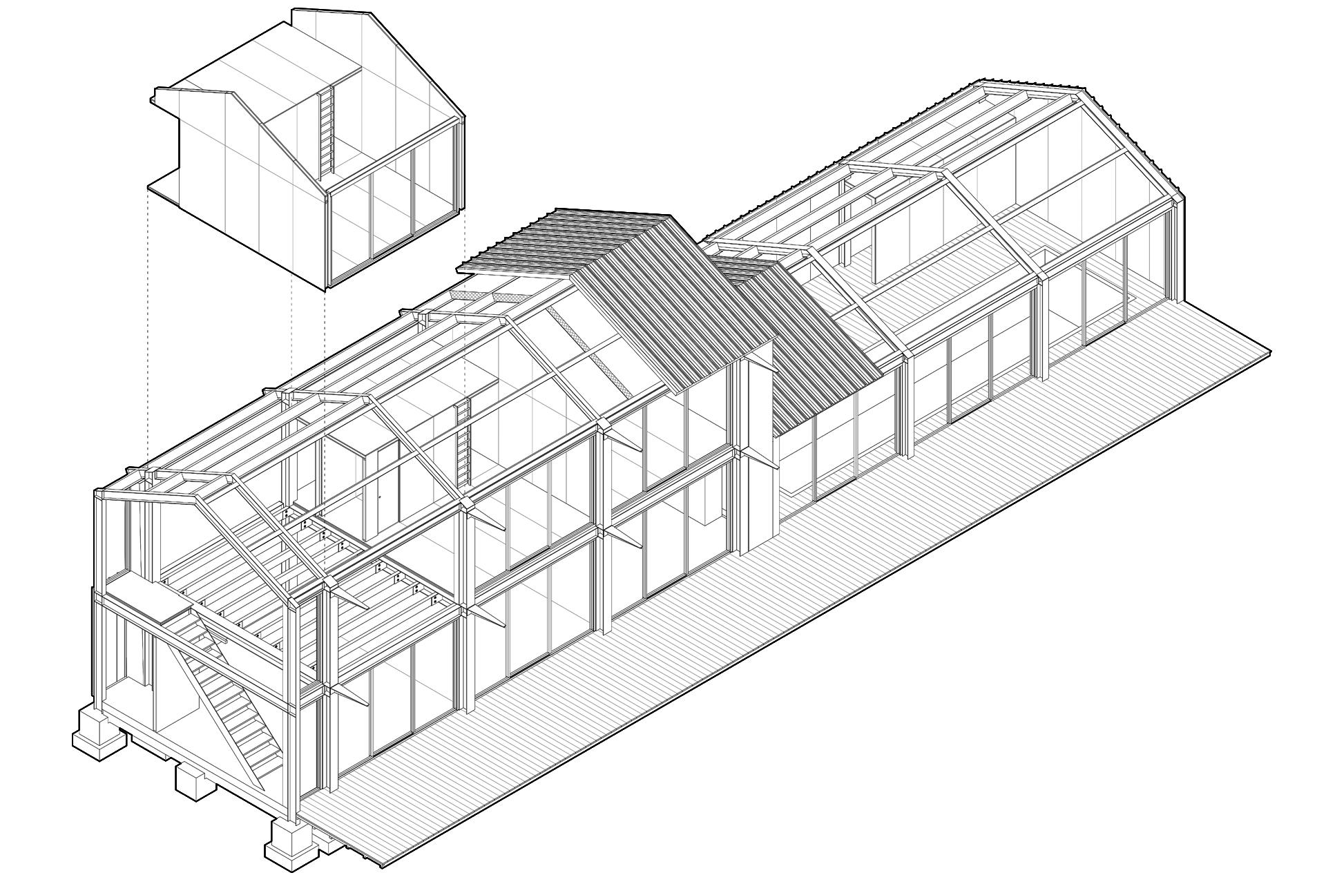 g te rural philippe rizzotti architecte. Black Bedroom Furniture Sets. Home Design Ideas