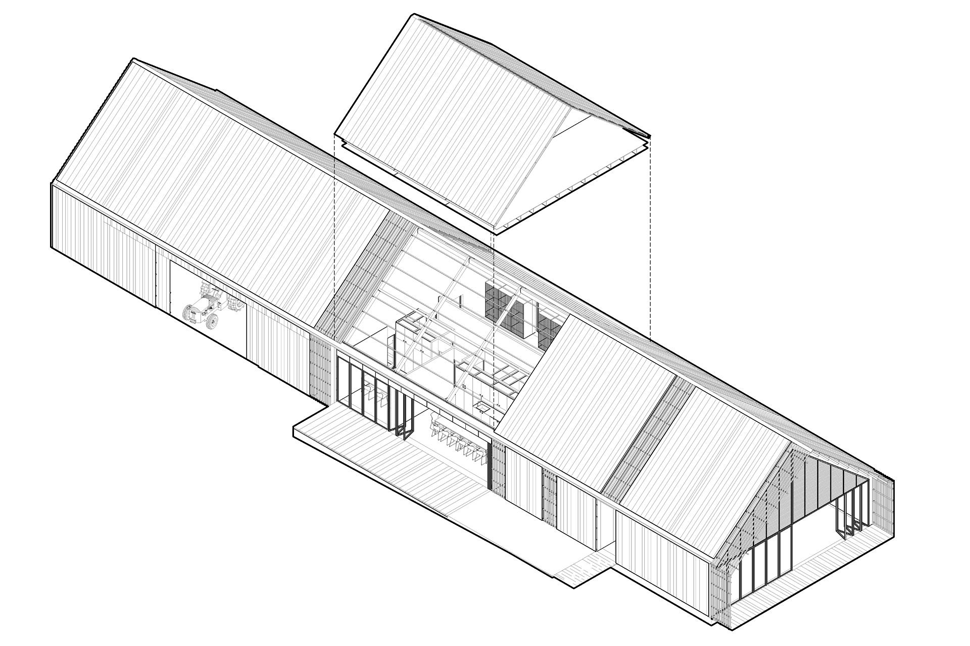 centre technique des jardiniers philippe rizzotti architecte. Black Bedroom Furniture Sets. Home Design Ideas