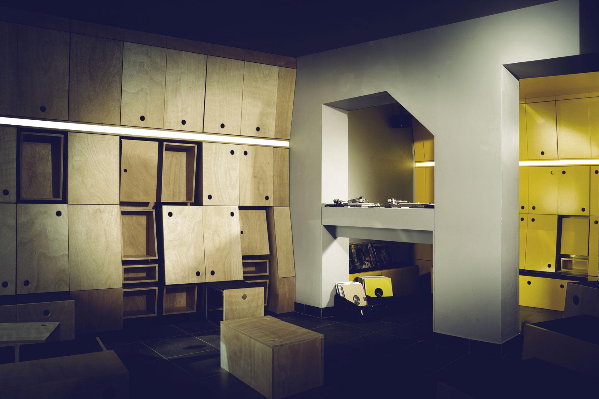Minibar - Philippe Rizzotti Architecte
