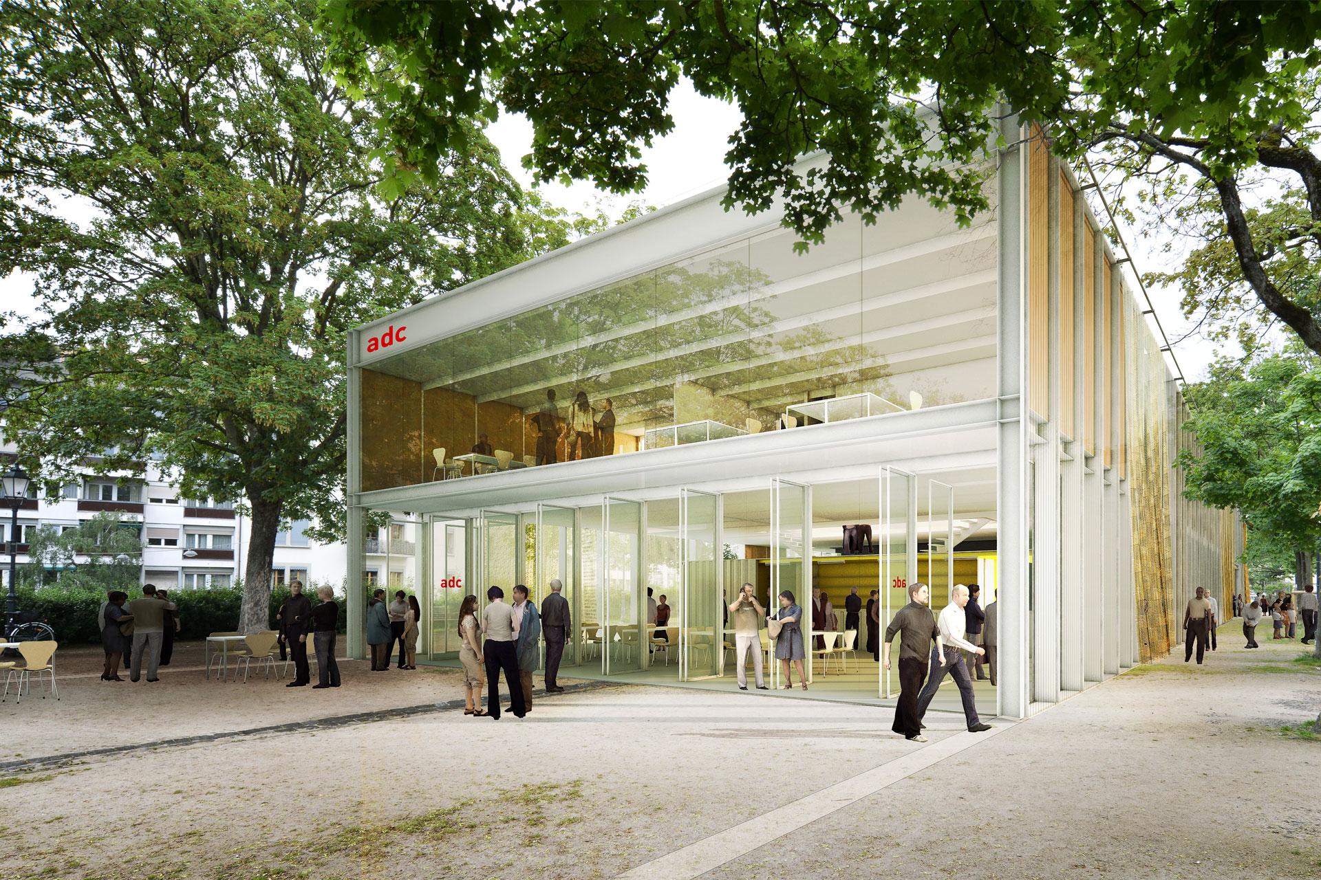 pavillon de danse contemporaine philippe rizzotti architecte. Black Bedroom Furniture Sets. Home Design Ideas